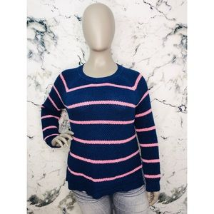 💜3/$25💜 Old Navy Striped Sweater Plus Size XXL